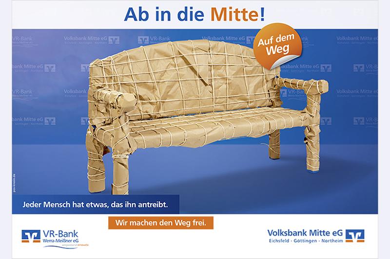 Vr Bank Mitte Eg P O S Kresin Design Gmbh Werbeagentur Gottingen