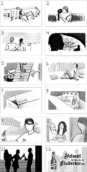 Storyboard des Films